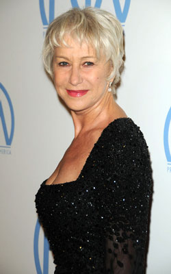Dame Helen Mirren has been praised as a style icon for mature women: she ...