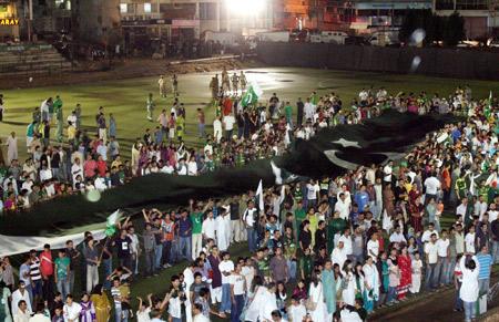 national-anthem-sigining-karachi world record.