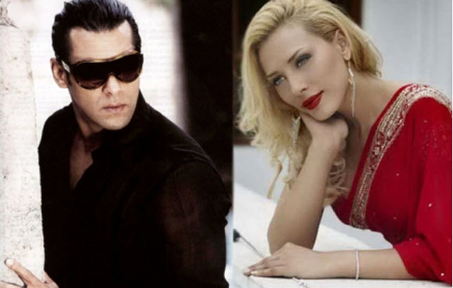 Salman khan girlfriend Iulia Vantur Romania Girl Anchor
