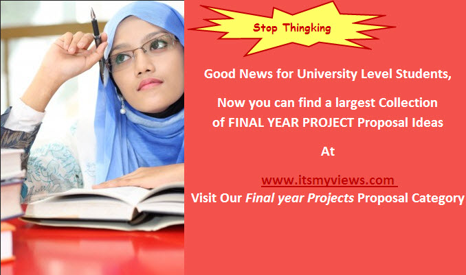 Final-year-project-ideas-for University students