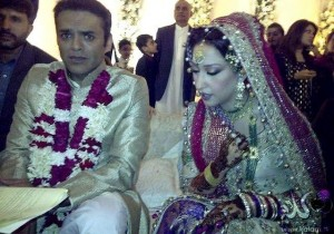 Mehar bukari Kashif abbasi marriage picture