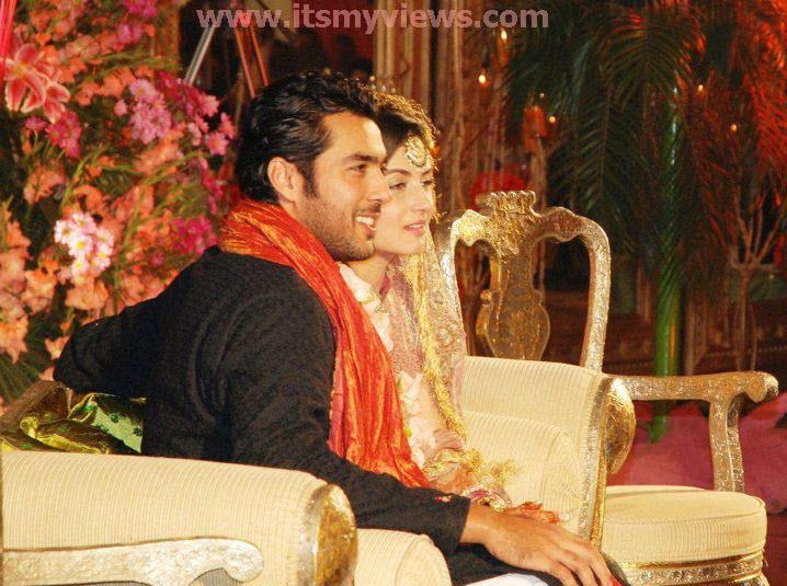 Aisam-ul-haq wedding picture 2011
