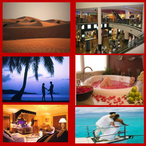 Dubai best honeymoon destination places