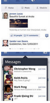 Facebook application for Android