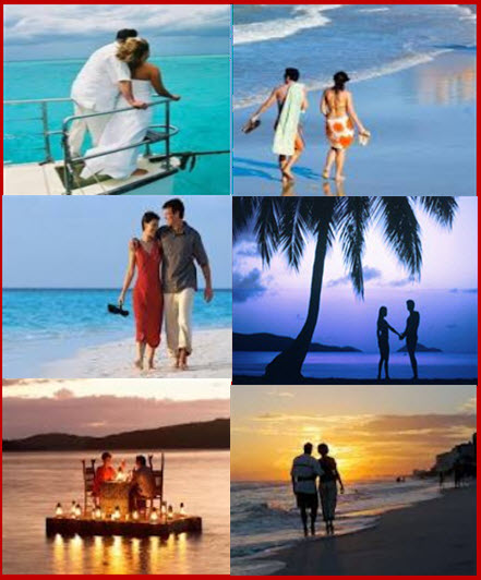 Most Beautiful Romantic HoneyMoon Destinations and Places