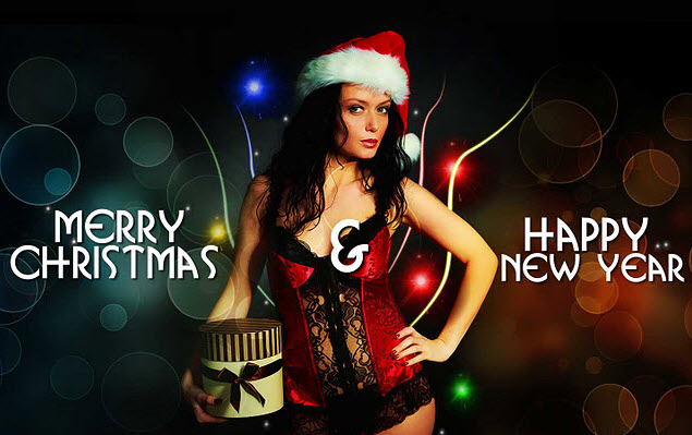 Hot new year wallpaper 2012