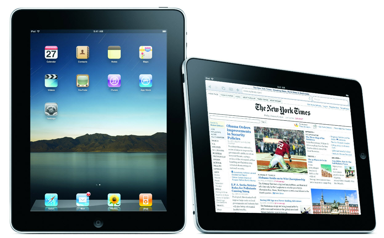 Apple Tablet PC 2012.
