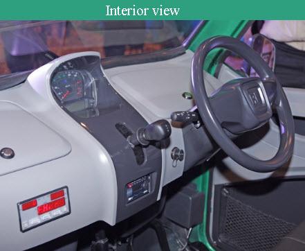 Bajaj RE60 Interior
