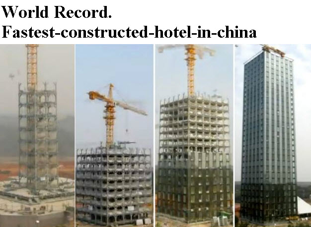 Fastest-building-ever-built-china