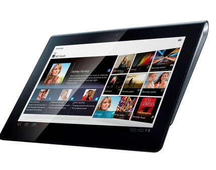 Latest Tablet PC 2012-Sony Tablet-S