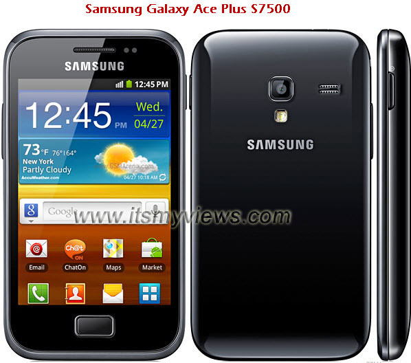 Samsung-Galaxy-Ace-Plus-S7500 Review and Technical specifications