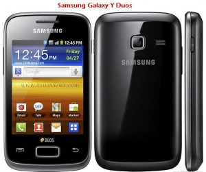Samsung Galaxy Y Duos Latest mobile samsung 2012