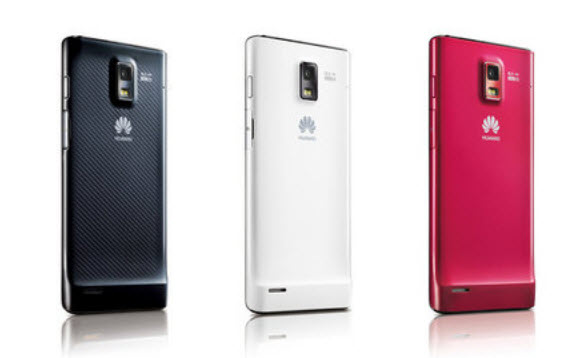 World slimmest Mobile Ascend P1-S Huawei