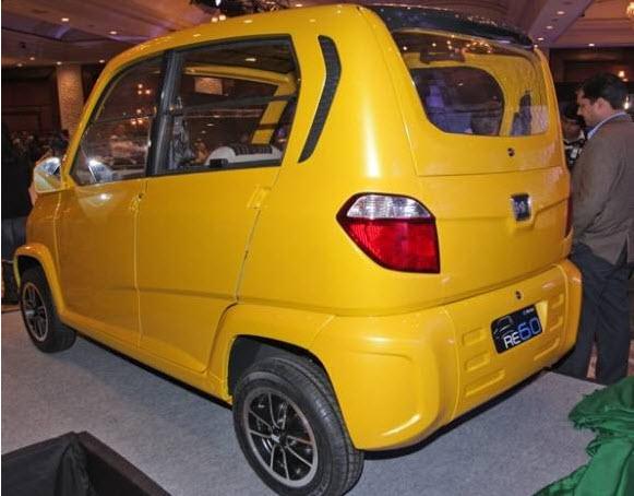 indian-cheapest-car bajaj RE60