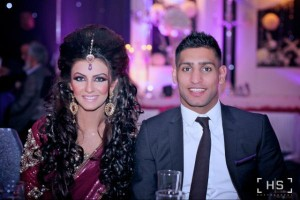 latest amir khan faryl makhdoom engagement