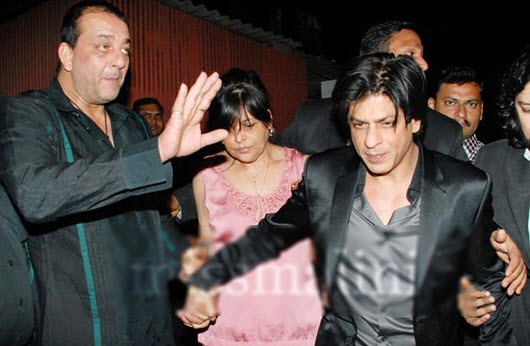 shahrukh-khan-slaps-farah-khan-husband Shirish Kunder