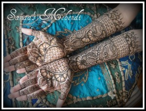 best mehndi design 2012