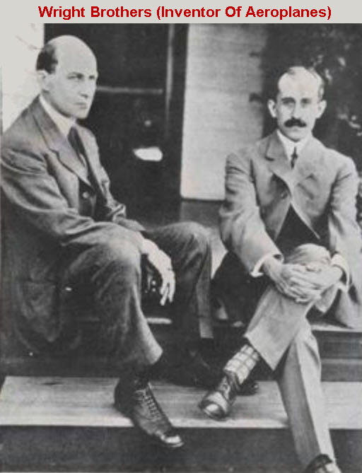 Wright Brothers-Inventor of Aeroplanes