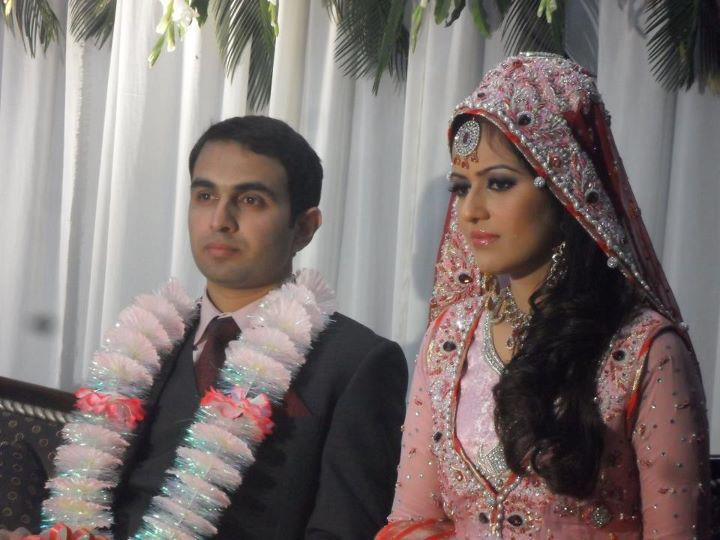 Geonews-ayesha bakhsh marriage picture