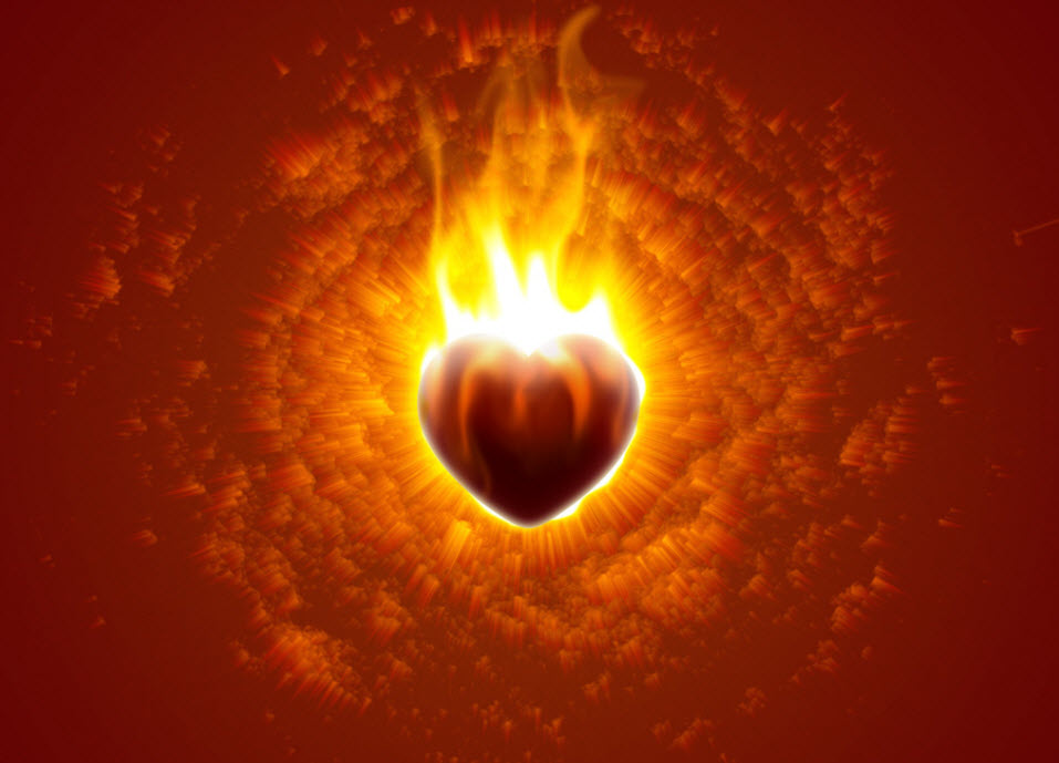 heart-on-fire-photo