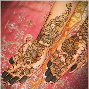 latest mehndi design for bride 2012