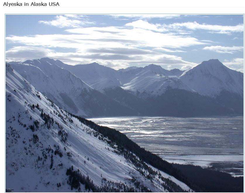 Alyeska-mountain-in Alaska USA