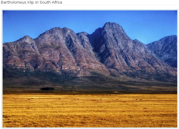 Bartholomeus-Klip-South Africa