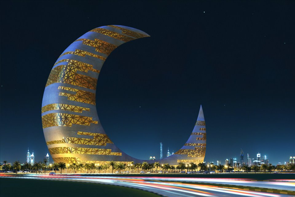 Crescent-Moon-Tower dubai