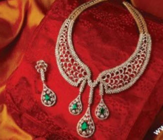 Diamond-jewellery-sets-for-woman