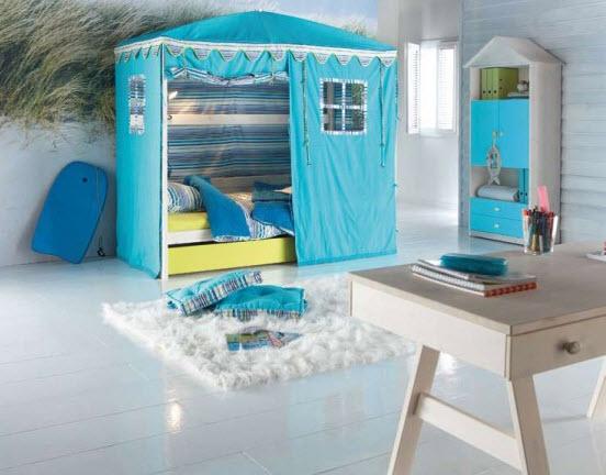 Kids-room-interior-design-blue-color