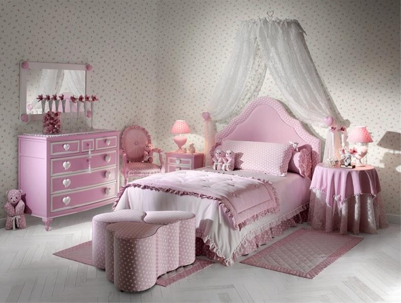 Kids-room-interior-design-pink-color
