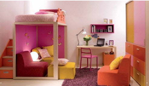 Room Interior  Kids on Interior Designs For The Children Room 2012 Latest Girls Room Interior