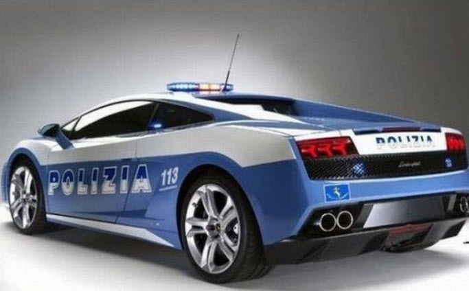 Lamborghini-australia-police