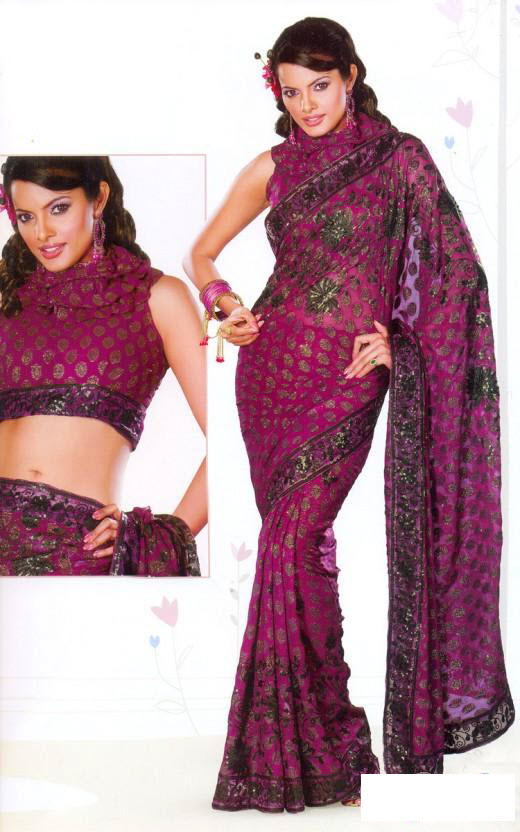 Latest-Saree-trend 2012