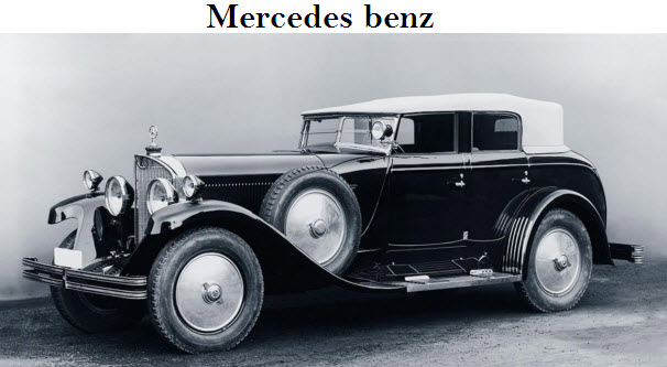 Old model cars vumandas kendes for Old mercedes benz models