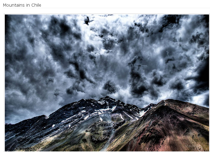Mountains-Chile