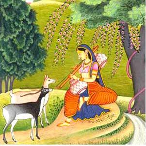 Raja-rani-painting
