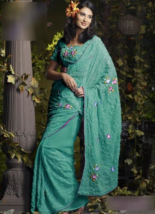 Saree-Design-2012