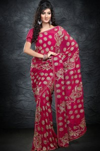 Saree-design-for-wedding