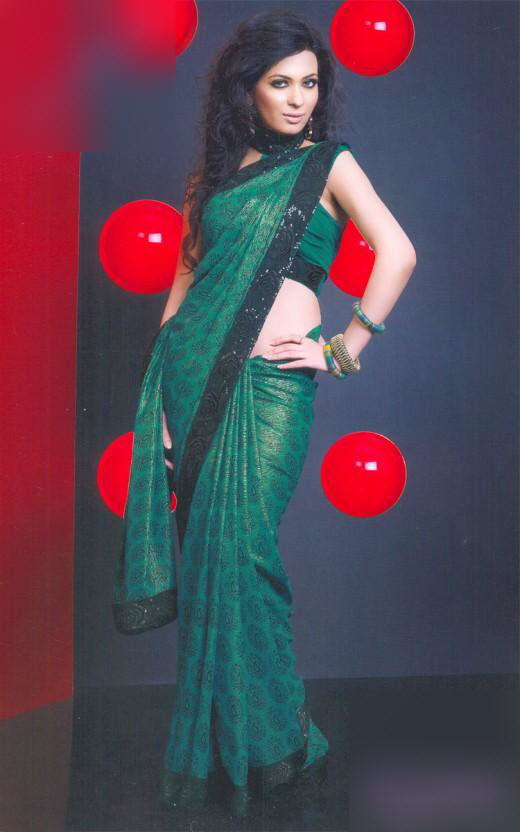 Saree-for-bridal-2012