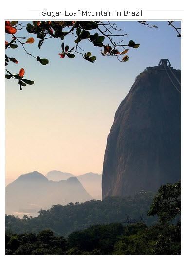 Sugar-Loaf-Mountain in Brazil