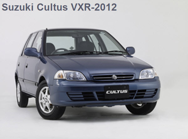 Suzuki-Cultus-VXR-2012 Price in Pakistan