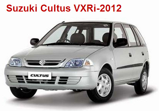 Suzuki Cultus-VXRi-2012