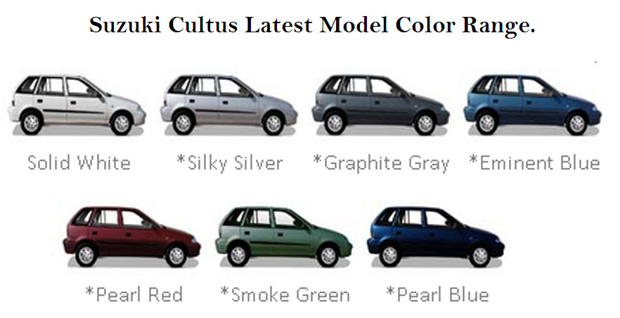 Suzuki-Cultus-color-range