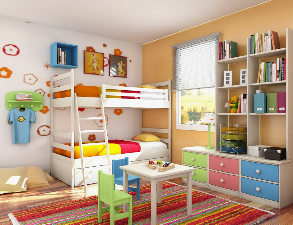 baby-girl-room-interior-design-ideas colorful
