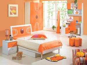 baby-girl-room-interior-design-orange-color