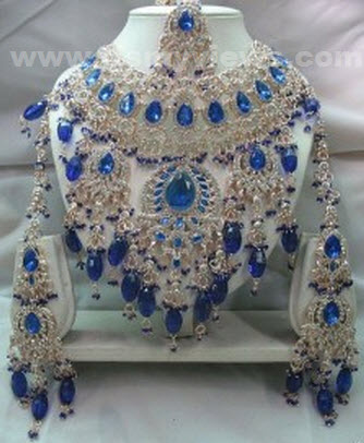 bridal-jewelry-blue-colors-sets