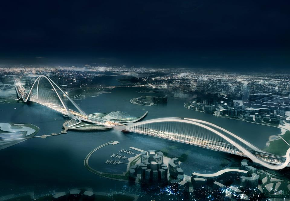 sheikh Rashid bin Saeed Crossing Project in Dubai