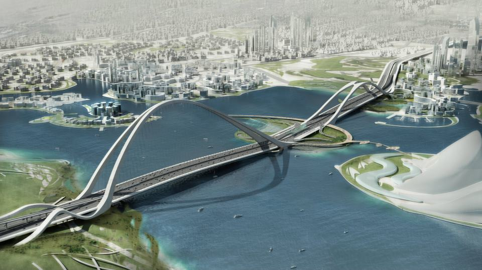 sheikh-Rashid bin Saeed Crossing Project in Dubai