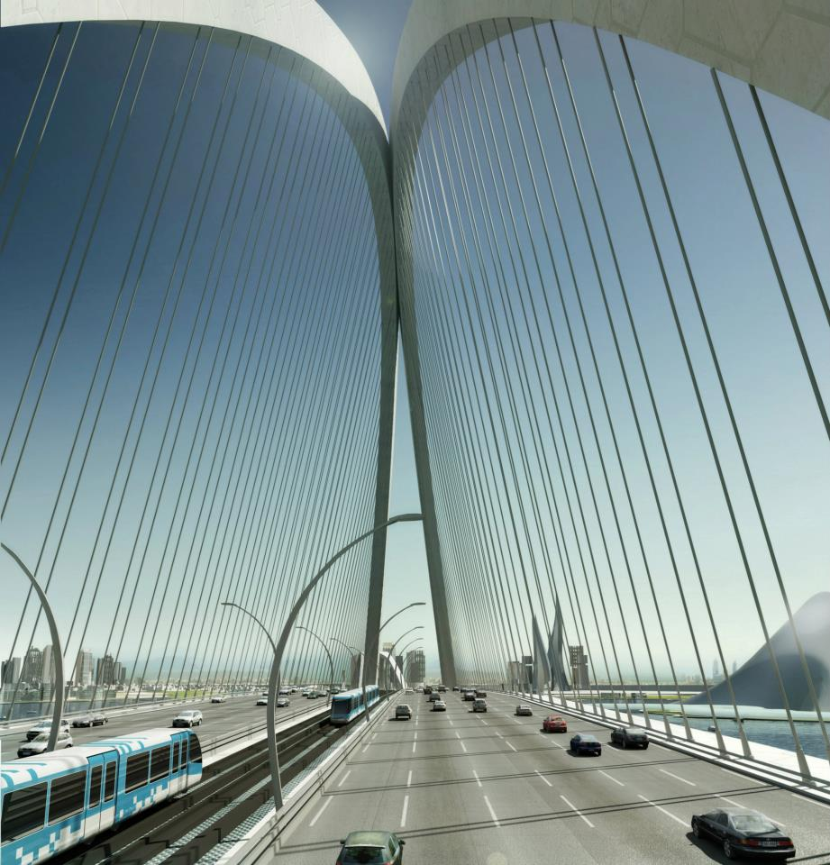 sheikh-Rashid bin Saeed Crossing-Project in Dubai